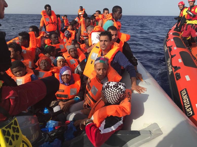 L'Italie refuse l'accès à 59 migrants sauvés par une ONG espagnole