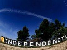 9 000 personnes manifestent pour l'indépendance de la Catalogne