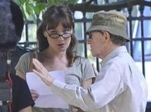 Carla Bruni, tout bénèf' pour Woody Allen... qui lui paye le cachet dérisoire d'une figurante lambda !