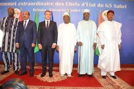 """Macron: """"le G5 Sahel doit être soutenu et renforcé"""""""
