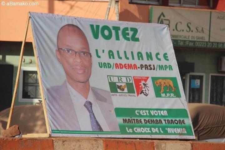 Bamako au rythme de la campagne électorale