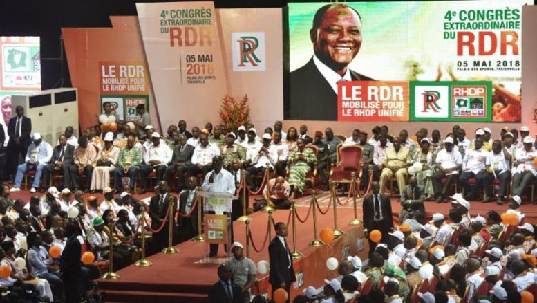 Côte d'Ivoire: le RDR prêt à créer un parti unifié sans le PDCI