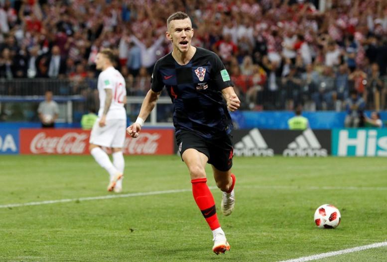 #CROENG  : Perisic égalise pour la Croatie (1-1)