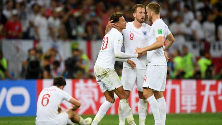 Le surprenant et vibrant hommage de l'Angleterre à ses héros, la Croatie comme dans un rêve