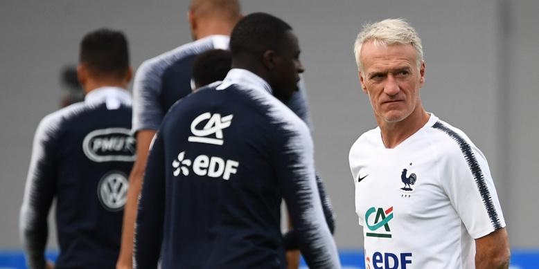 France : Varane, Umtiti, Mbappé, Giroud et Pavard absents de l'entraînement