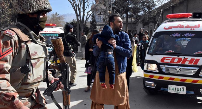 Pakistan : 20 morts et plus de 40 blessés dans un attentat au cours d'une réunion électorale