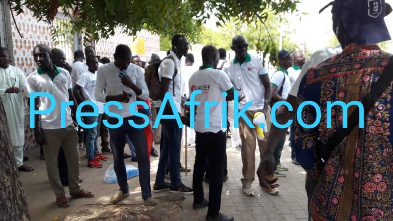 Les premières images de la marche de l'opposition de ce vendredi