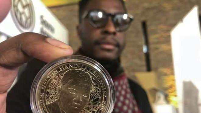 Une monnaie à l'effigie de Mandela