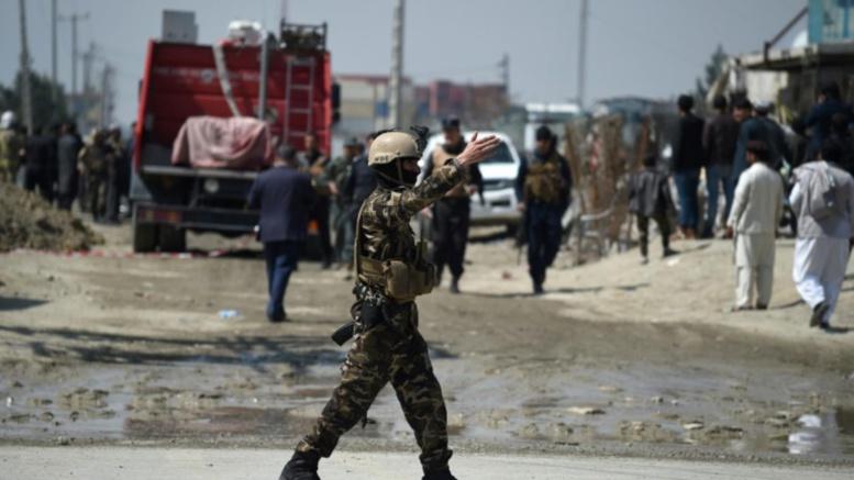 Attentat-suicide devant le ministère du Développement rural à Kaboul
