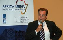 l'ambassadeur d'Allemagne en Tanzanie, Guido Hertz