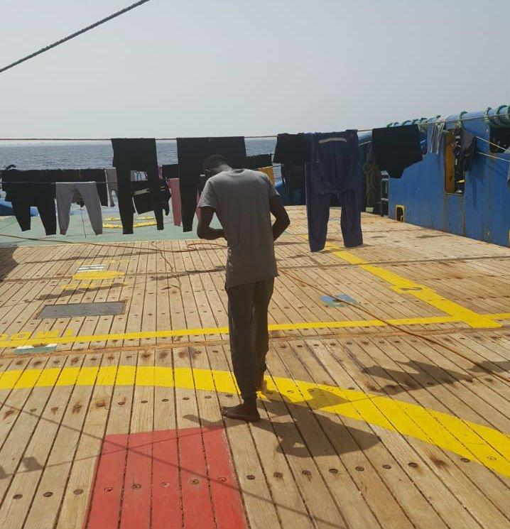 La Tunisie refuse d'accueillir 40 migrants bloqués en mer depuis plusieurs jours