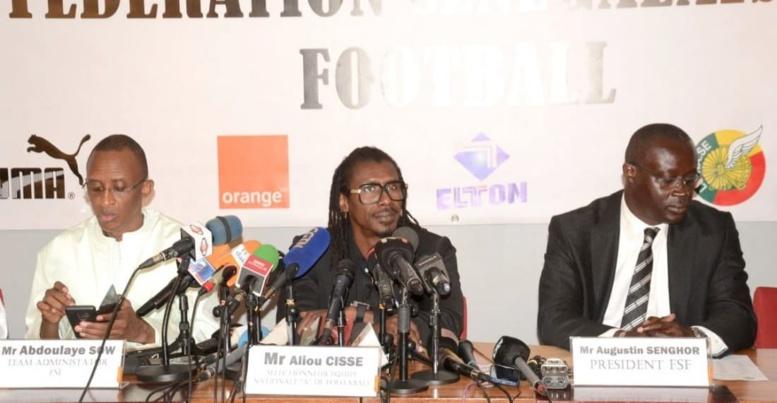 Le Fédé maintient Aliou Cissé  avec comme objectif la finale de la Can 2019