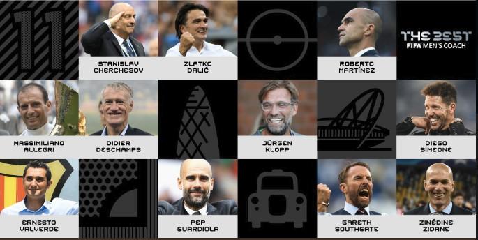 Les nominés du meilleur entraîneur FIFA sont...