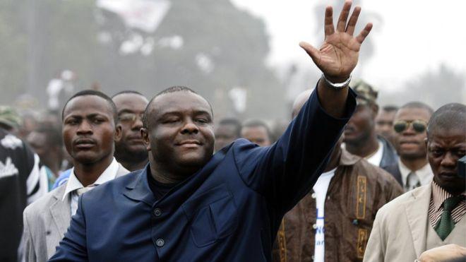 Bemba est arrivé à Kinshasa