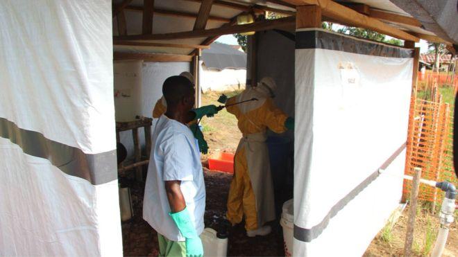 """Nouvelle """"épidémie d'Ebola"""" en RDC"""