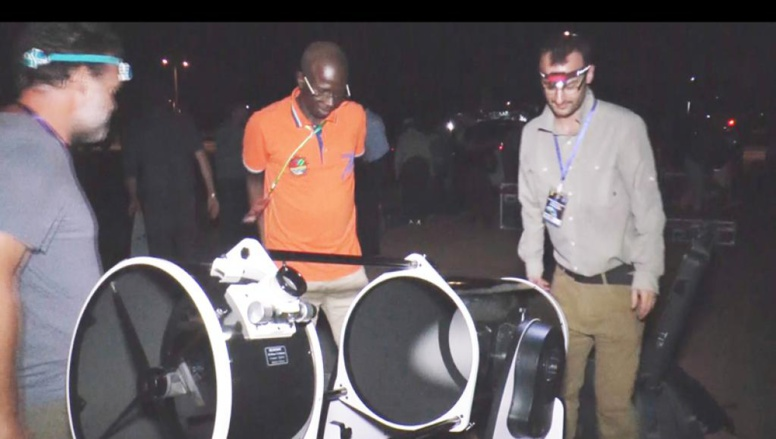 Astronomie: une équipe de la Nasa investit le ciel sénégalais