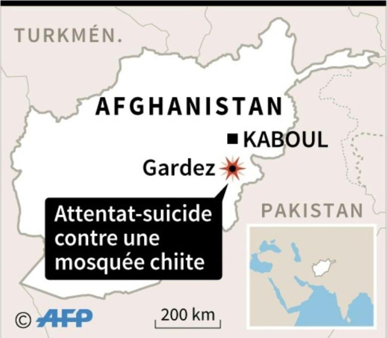 Afghanistan: au moins 20 morts dans une attaque suicide contre une mosquée chiite