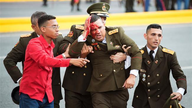  Un groupe rebelle revendique l'attentat contre le président Maduro
