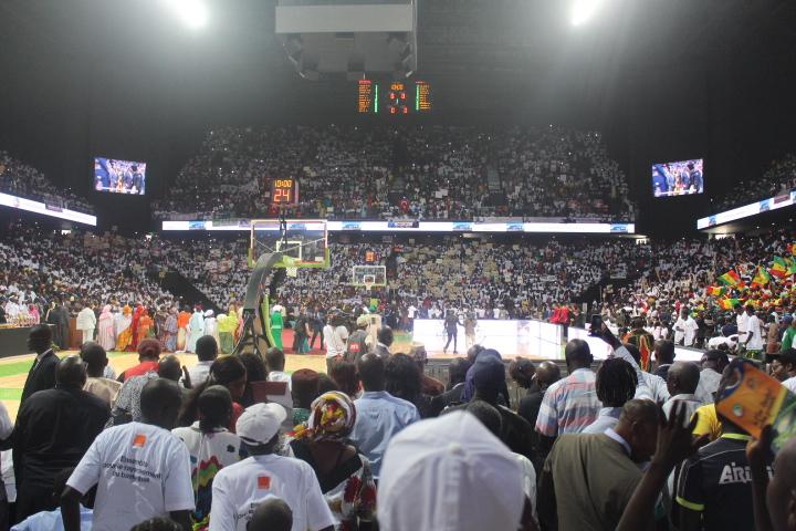 Inauguration « Dakar Arena » : le président de la Fédé de Basket demande l'autorisation à Macky pour accueillir l'Afrobasket féminin 2019.
