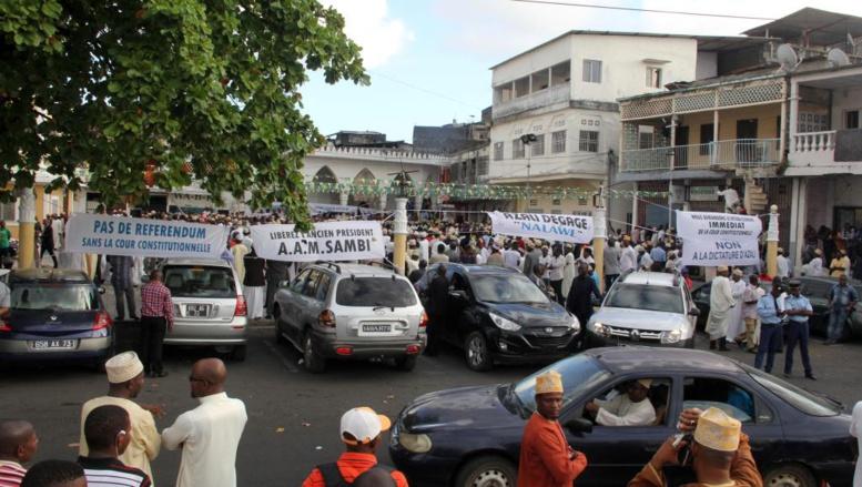 Comores: trois opposants recherchés se placent sous la protection du PNUD