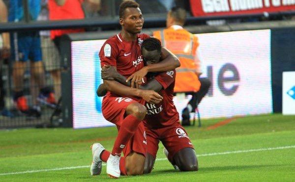 Metz renverse Clermont grâce à Niane et Diallo