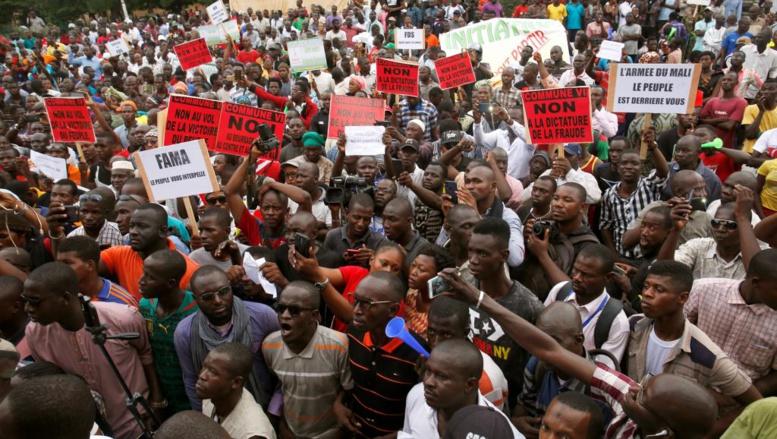 Mali: une manifestation contre «la dictature de la fraude» à Bamako