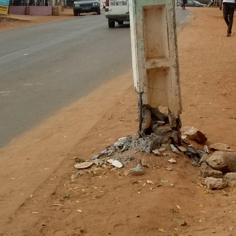Mboro : un camion percute une ligne Haute tension de la Senelec et expose dangereusement les populations