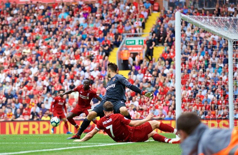 #PremierLeague - Liverpool démarre fort en écrasant West Ham (4-0)