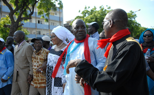 """A Pikine Oumar Sarr avertit : """"nous allons accélérer et taper"""""""