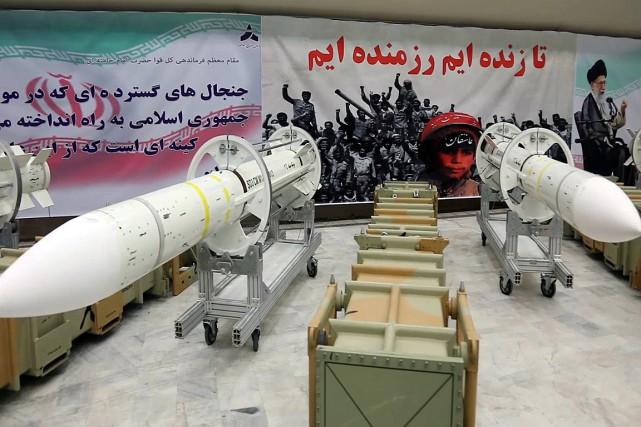 L'Iran dévoile un missile de nouvelle génération