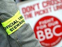 Les journalistes de la BBC en grève contre la réforme de leur régime de retraite