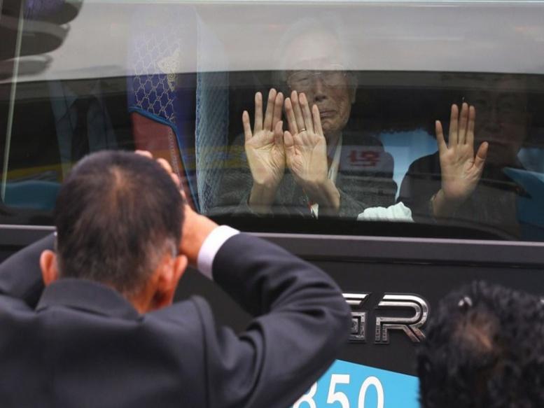 Retrouvailles de familles séparées en Corée du Nord : un aparté très réglementé