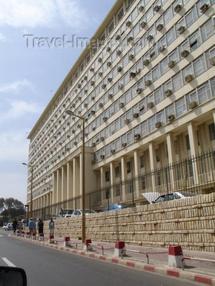 Le building administratif, siège du Gouvernement sénégalais