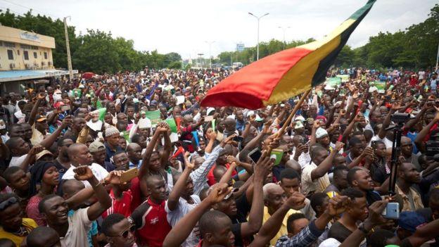 Mali: nouvelle marche de l'opposition