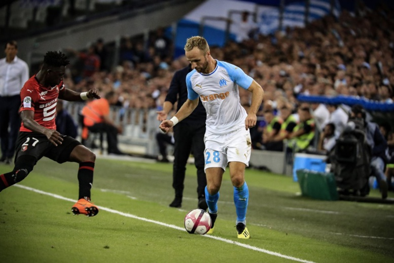 Marseille est revenu à hauteur de Rennes (2-2)