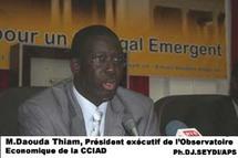 le vice président de la chambre de commerce de Dakar, Daouda Thiam