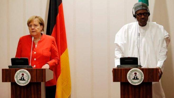 Merkel s'engage à aider les jeunes nigérians