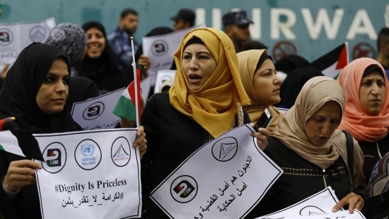 Washington ne financera plus l'agence de l'ONU pour les réfugiés palestiniens