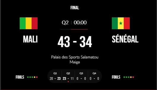 Afrobasket U18 (finale) : Revivez Mali-Senegal