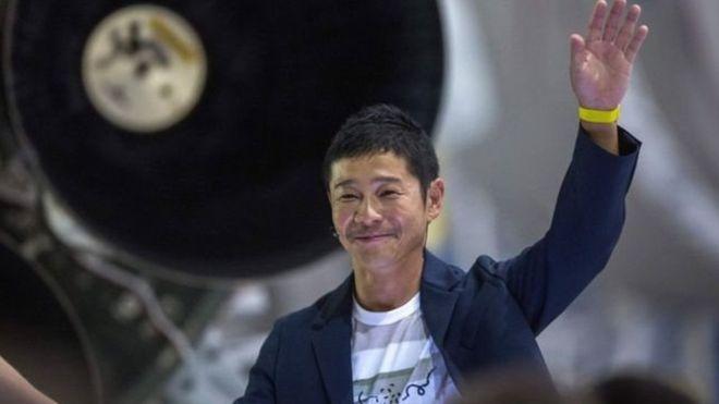 Un milliardaire japonais, premier touriste sur la Lune