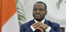 Guillaume Soro, Premier ministre d'Alassane Ouattara, le 6 décembre à l'hôtel du Golf d'Abidjan. AFP/Sia Kambou