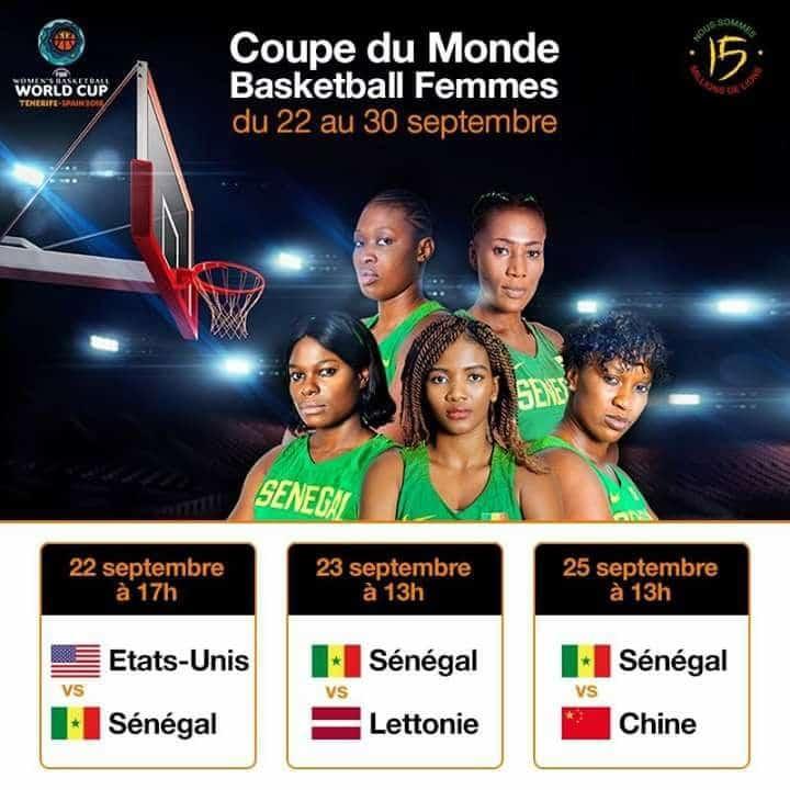 """Mondial féminin 2018: Voici le programme de la poule des """"Lionnes"""""""