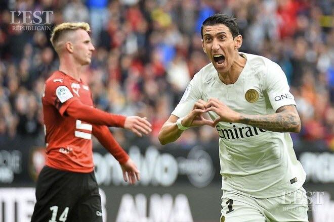 Le PSG s'en sort à Rennes et poursuit son sans-faute en L1