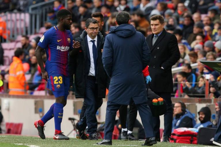 Le plan du FC Barcelone pour remettre Samuel Umtiti sur pied