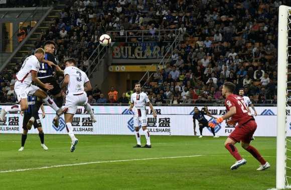 Serie A : l'Inter enchaîne contre Cagliari