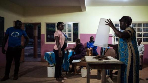 DIRECT l'élection présidentielle au #Cameroun