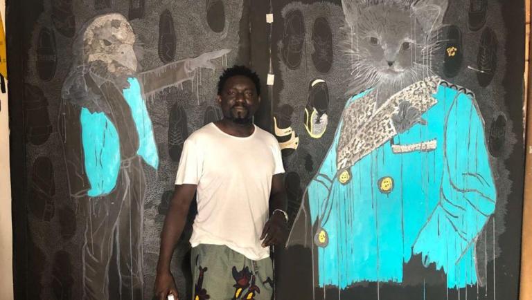 Le peintre sénégalais Omar Ba: «L'Afrique a besoin de concrétiser ses rêves»