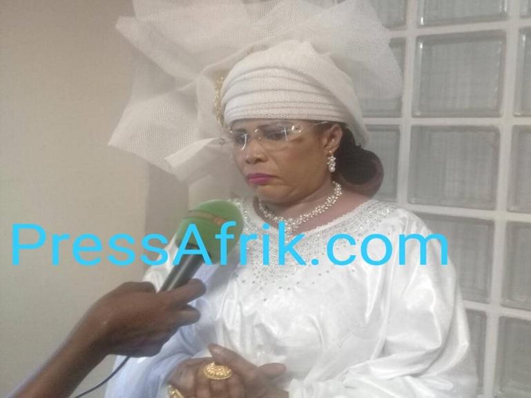  #SessionOrdinaireAssembléeNationale : La députée de la diaspora Mame Diarra Fam veut une femme à la place Pape Diop