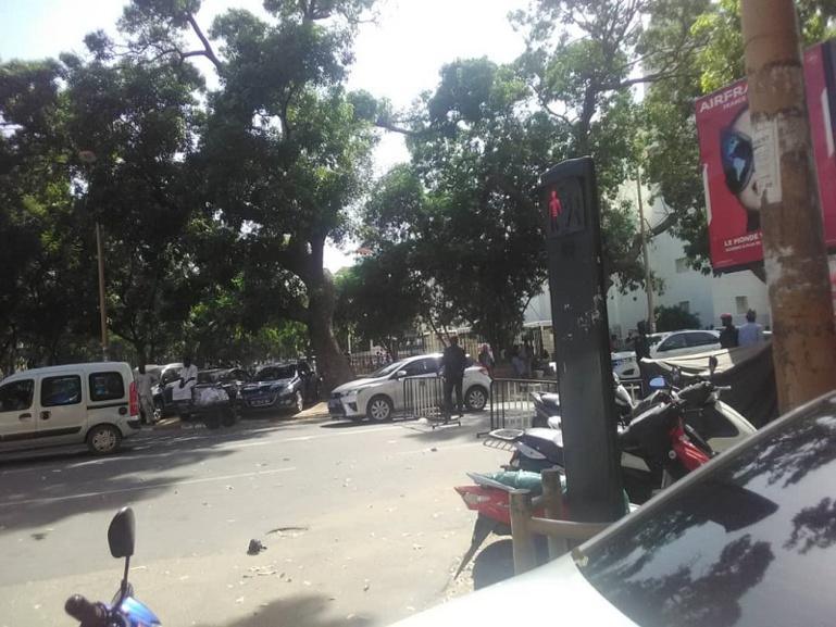 Retard du démarrage du sit-in de l'opposition : les policiers au rendez-vous
