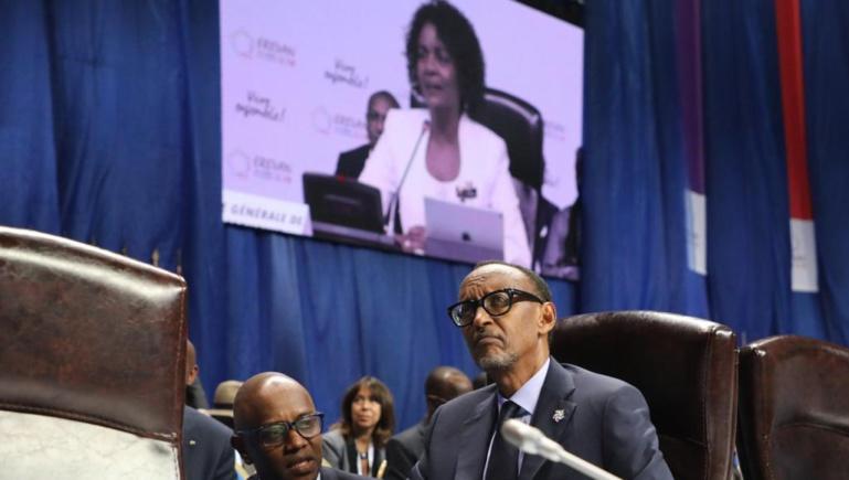 Francophonie: le Rwanda n'a jamais semblé si fort dans le concert des nations